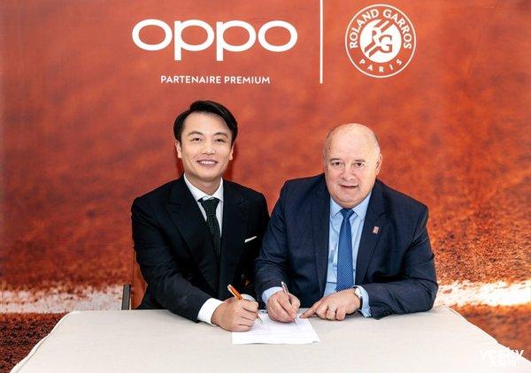 进击的OPPO:OPPO营销版图再下一城!成为法网第一个中国全球合作伙伴