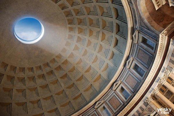 是罗马万神庙的穹顶?   是靠近它就会被吞噬的黑洞?