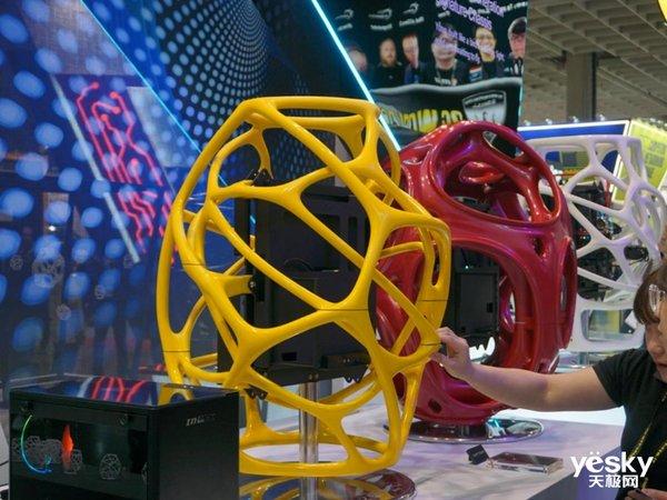 Computex2019|迎广展示3D打印定制机箱创意十足