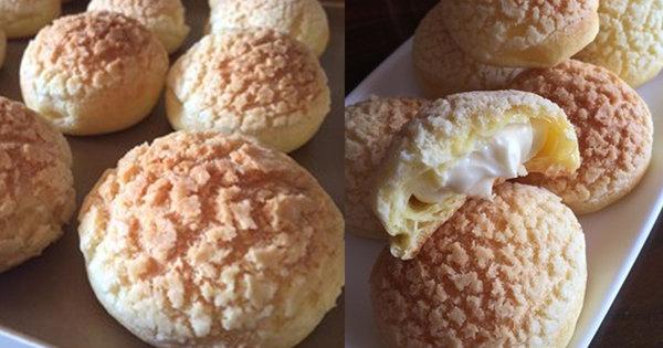 极客美食:甜甜下午茶―电烤箱版酥皮泡芙