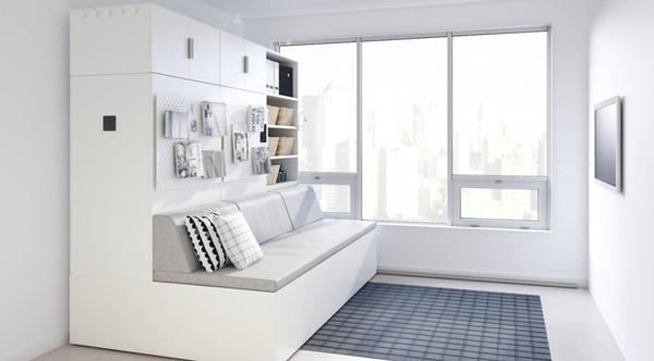 宜家研发了一套家具变形系统 能让家庭空间瞬间翻倍