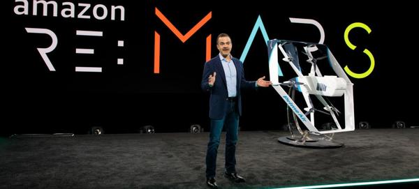亚马逊Prime Air无人机亮相MARS大会 承诺在半小时内交付快递