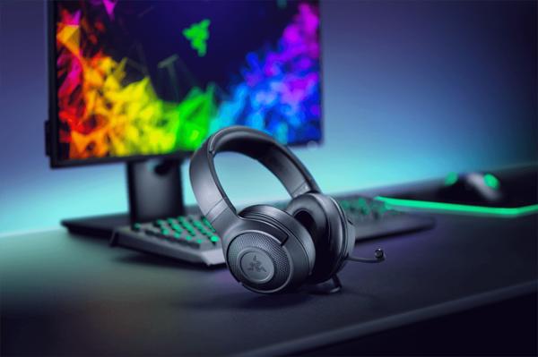 雷蛇发布Kraken X有线游戏耳机 售价不足50美元