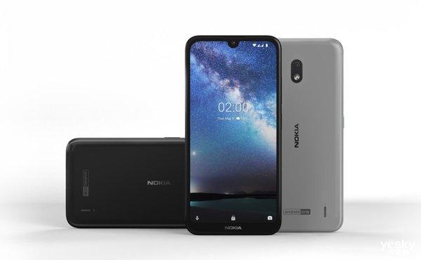 诺基亚新入门机Nokia2.2 将是最便宜的Android Q设备