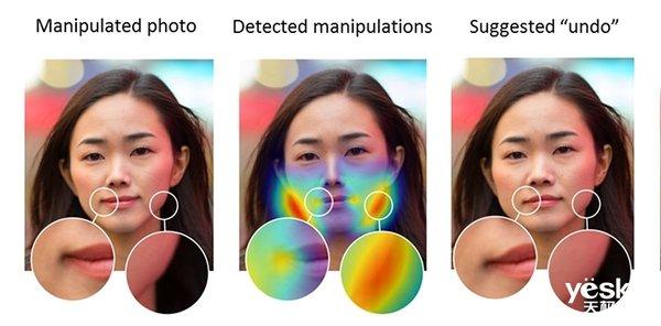 Adobe训练AI,可以发现被PS的人类面部