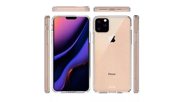 配件商全面曝光2019年新款iPhone:刘海屏+浴霸三摄 售价或继续提高