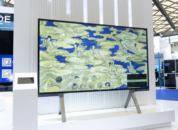 BD Cell显示屏叫板OLED!京东方又带来了一波创新显示技术
