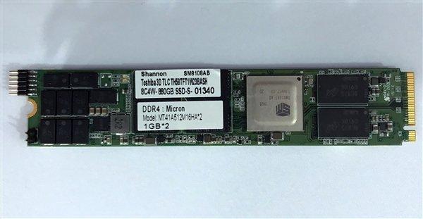慧荣发布企业级固态硬盘主控SM8108
