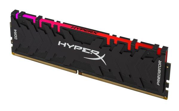 稀缺灯条――HyperX Predator掠食者RGB DDR4内存