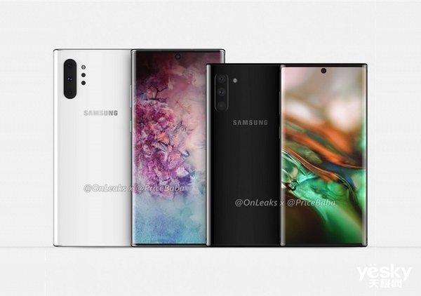 三星Galaxy Note 10更多细节曝光 屏占比将达94%