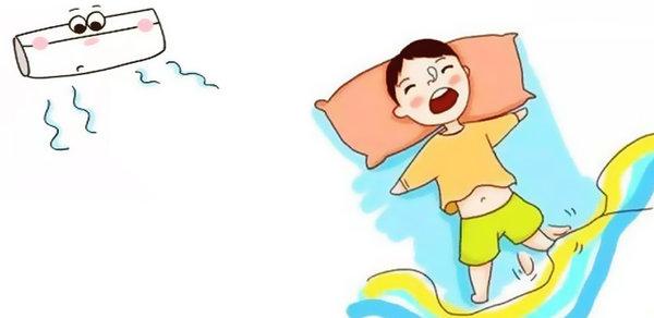 天热注意防暑 注意这几点宝宝也能吹空调!