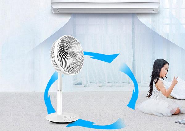 空气循环扇吹风更凉快!它比普通电风扇好在哪?