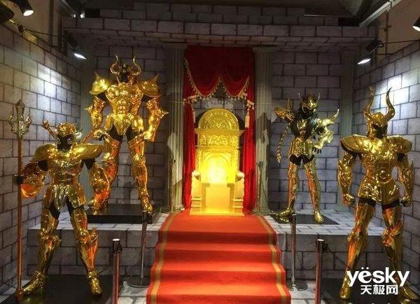 展会联动整理,《圣斗士星矢:重生》原作党福音!