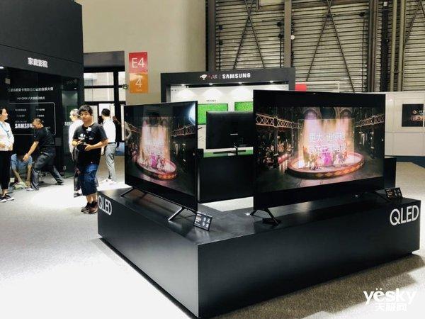 2019国际显示博览会:三星QLED 8K电视引领行业潮流