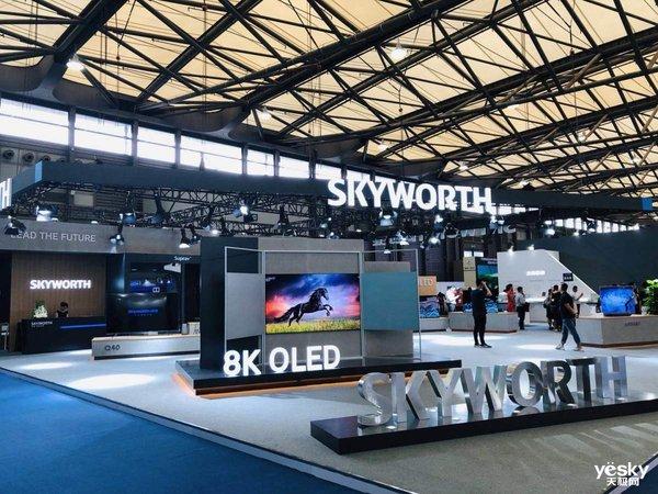 UDE2019:���S展示8K OLED��、大屏AIOT中心