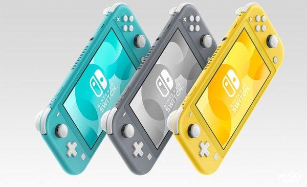 Switch Lite发布:不可拆卸手柄 5.5英寸屏幕 港币1490元