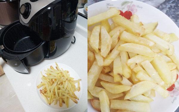 极客美食:香脆可口―空气炸锅版炸薯条