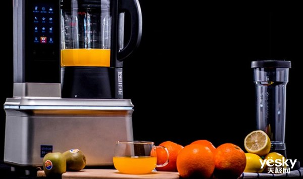 还在点外卖果汁?家有破壁机鲜榨果饮不重样!