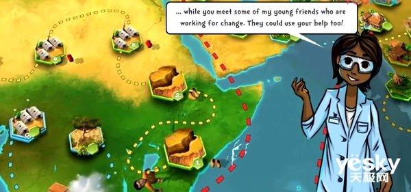 联合国希望手机游戏可以带来和平与持续发展