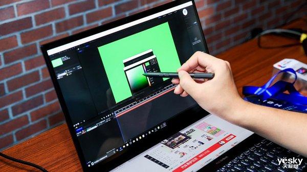 英特尔创意设计PC现场体验:双4K屏加持华硕灵耀X2 Pro