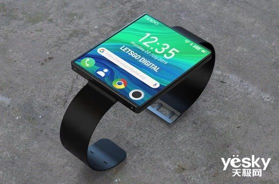OPPO申请柔性屏专利 未来智能手表长什么样?