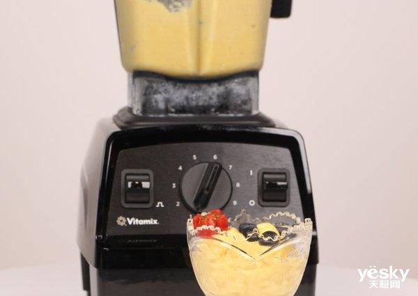 极客美食(视频):破壁机一键搞定芒果香蕉冰淇淋