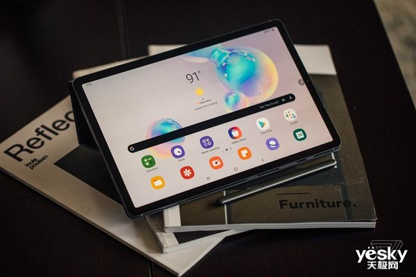 对标iPad Pro 三星发布Galaxy Tab S6旗舰平板电脑