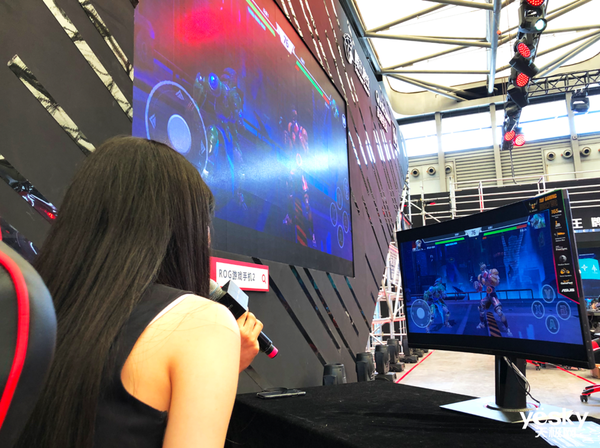ChinaJoy 2019:华硕电竞显示器亮相各大展台