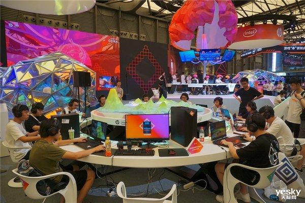ChinaJoy2019惠普展台:多款游戏本亮相脑电波游戏引人注目