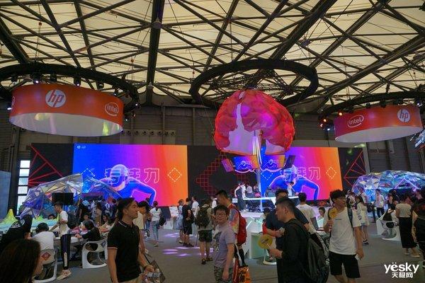 探访ChinaJoy2019惠普展台 多款游戏本亮相