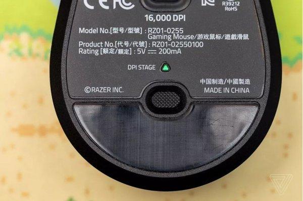 雷蛇发布Viper鼠标:搭配7000万次寿命光学微动