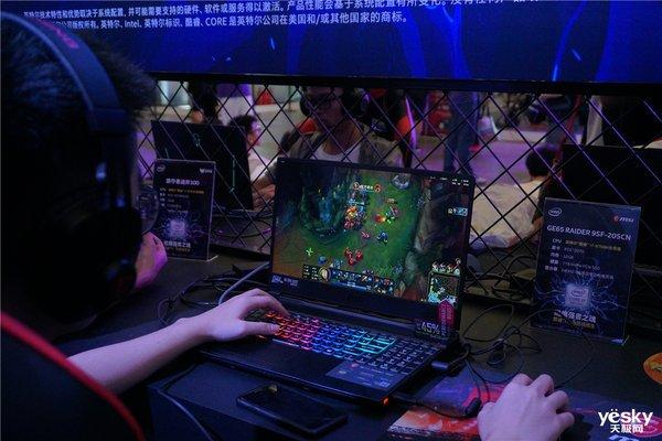 ChinaJoy2019微星展台:机皇降临引人围观