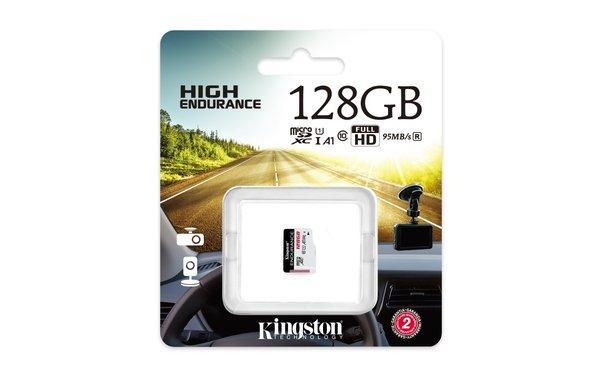 监控设备好搭档!金士顿High Endurance microSD监控级存储卡
