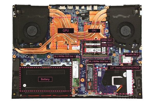 Eurocom发布轻薄15.6寸游戏本Nightsky RX15