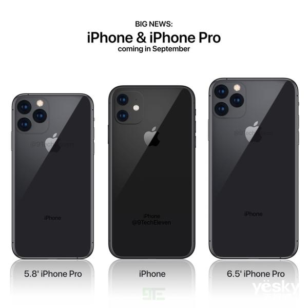 """你从未见过的全新版本!新iPhone将增加""""Pro""""后缀"""