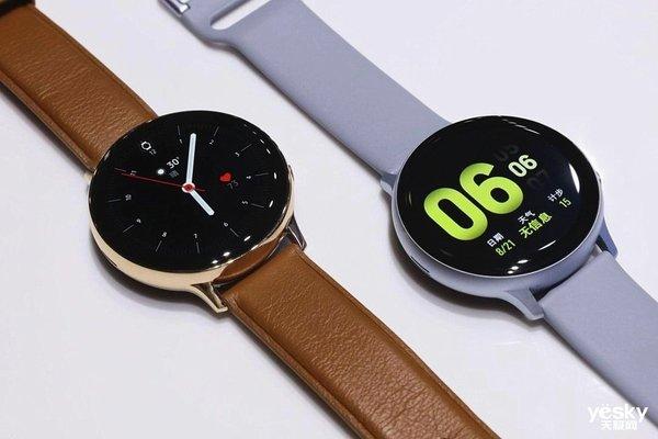 三星Galaxy Watch Active 2智能手表发布 更新更智能