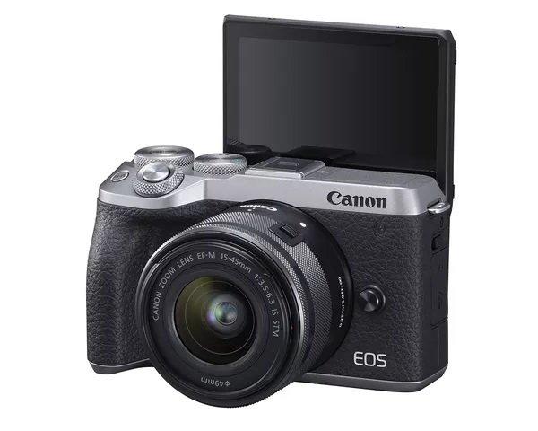 佳能发布半画幅90D与M6 Mark II相机