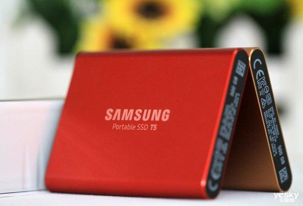 绚丽多彩 卓有不凡 三星移动固态硬盘T5金属红新品评测
