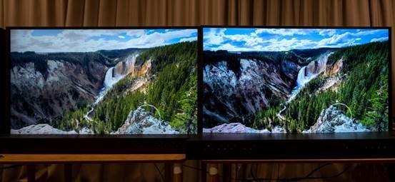 遮掉LOGO来一场电视盲测,索尼、三星谁才是画质更好的那个?