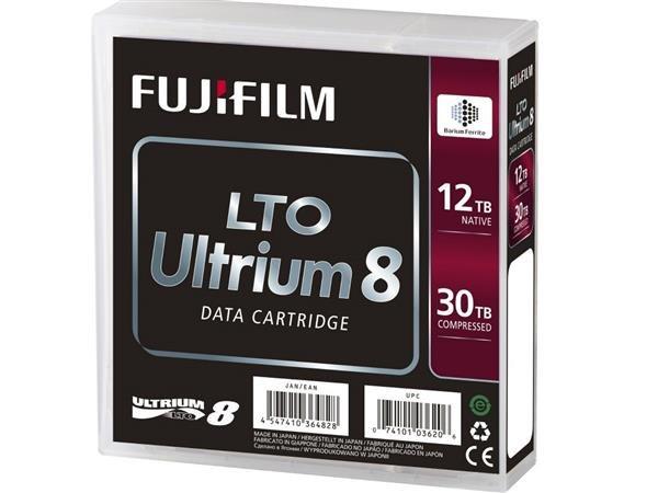 富士推LTO Ultrium 8磁带:最大容量30TB