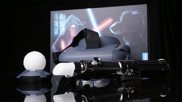 联想为Mirage AR智能头盔打造新游戏 控制器同步升级