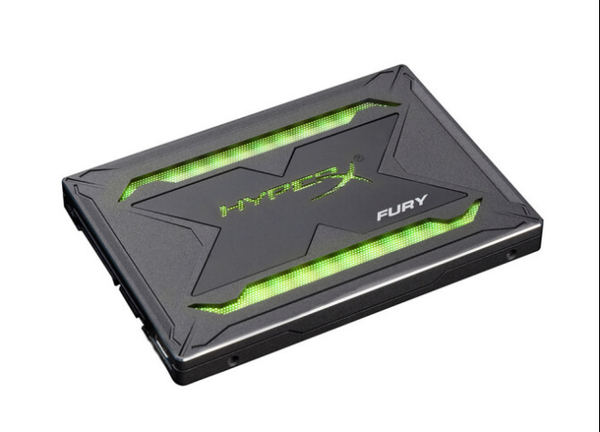 雷电之光――HyperX FURY雷电RGB固态硬盘