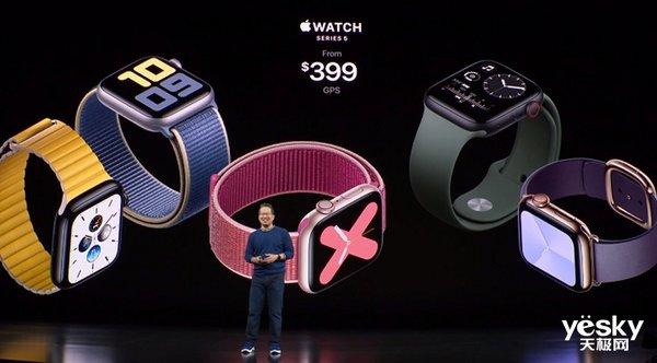 加入心率监测功能!苹果第五代Apple Watch来了