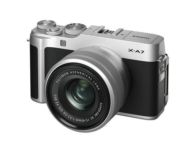 富士胶片推出FUJIFILM X-A7时尚无反数码相机
