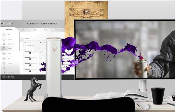 微星Prestige PC341WU专业显示器上市