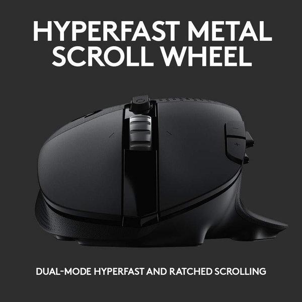 罗技G604 LIGHTSPEED双模无线游戏鼠标首曝