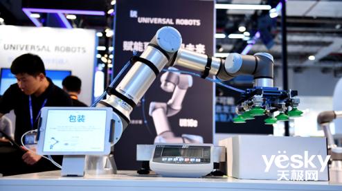 加码未来 优傲高载荷协作机器人UR16e亮相