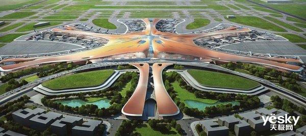 """北京大兴国际机场正式投运,被誉为""""新世界七大奇迹"""""""