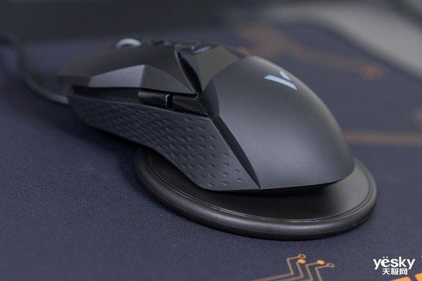 雷柏VT950Q双模无线游戏鼠标评测