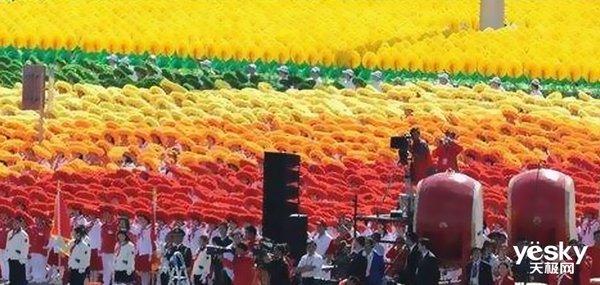去不了现场看大阅兵?4K电视助你看清70周年国庆盛典!
